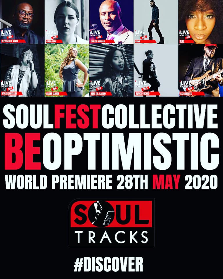 Alisha Glover Soulfest Collective Be Optimistic Image